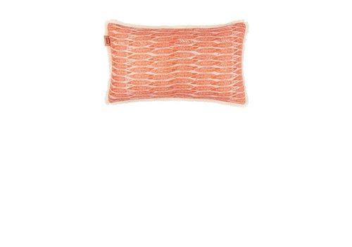 Pom Amsterdam Feathers kussen - koraal 30 x 50