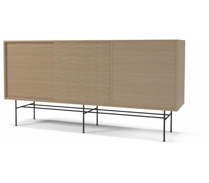 Case dressoir metalen onderstel
