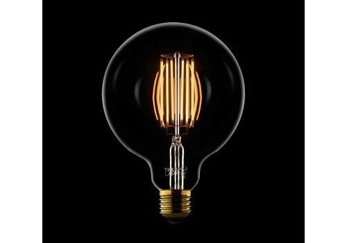 Globe ledlamp 125 mm Clear 8W - 560 lm