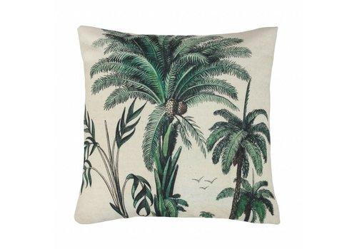 HK Living Geprint kussen palmbomen