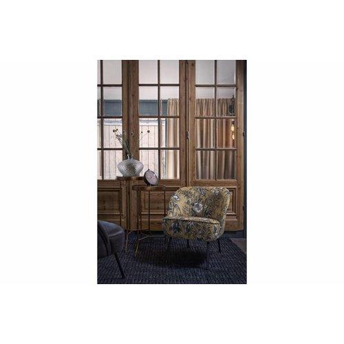 BePureHome Vogue fauteuil fluweel poppy
