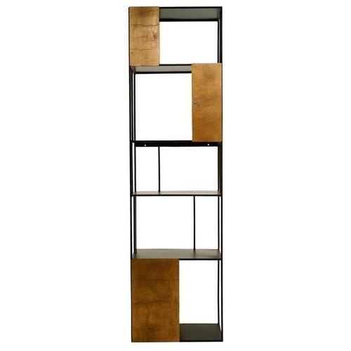 Pols Potten Shelf unit gold doors open wandkast enkel