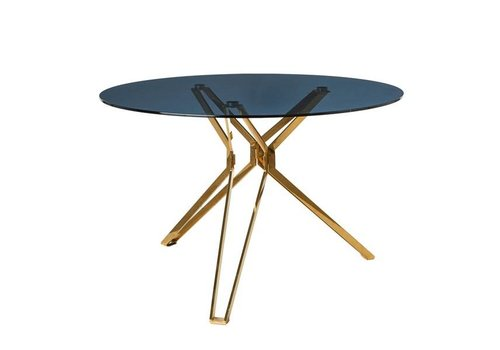 Pols Potten Ronde tafel goud en glas Pols Potten