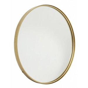 nordal Ronde spiegel goudkleurig metaal