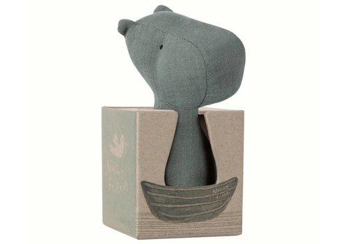 Maileg Noah's vrienden nijlpaard rammelaar