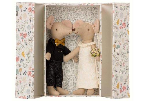 Maileg Huwelijk muizenkoppel in doosje