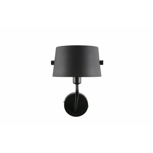 WOOOD Pien wandlamp - metaal zwart