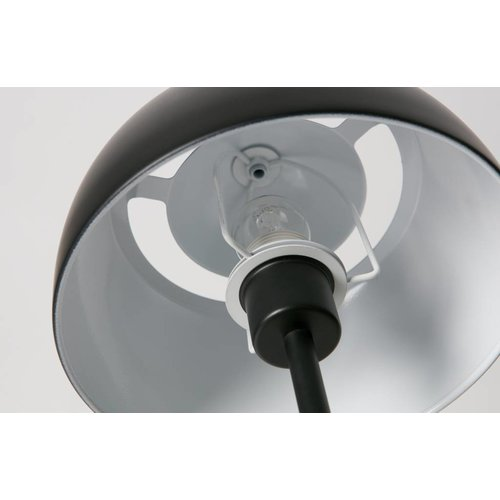 WOOOD Yvet bureaulamp - metaal zwart