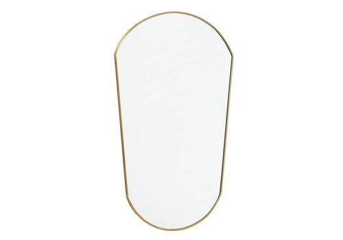 nordal Ovale spiegel goud 51x34
