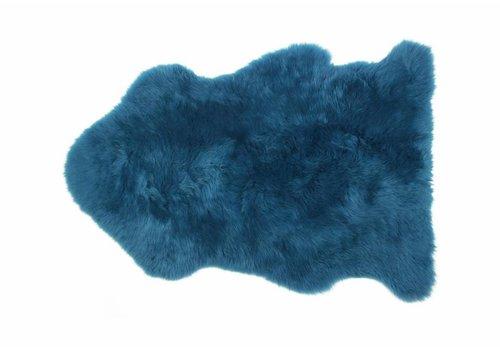 Auskin Schapenvacht teal blauw
