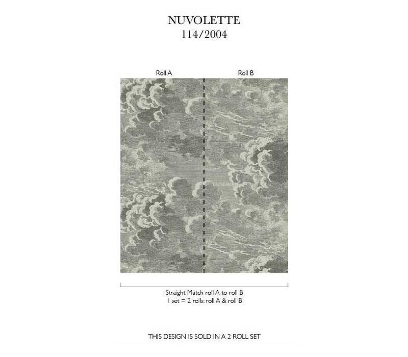 Nuvolette behangpapier-Fornasetti