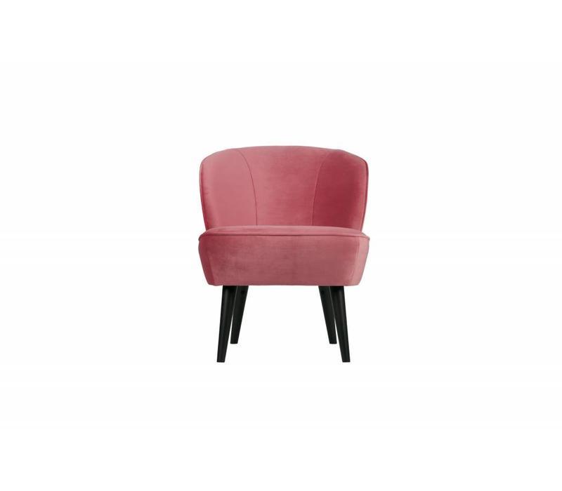 Sara fauteuil fluweel