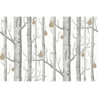 Woods and pears behangpapier - Contemporary restyled