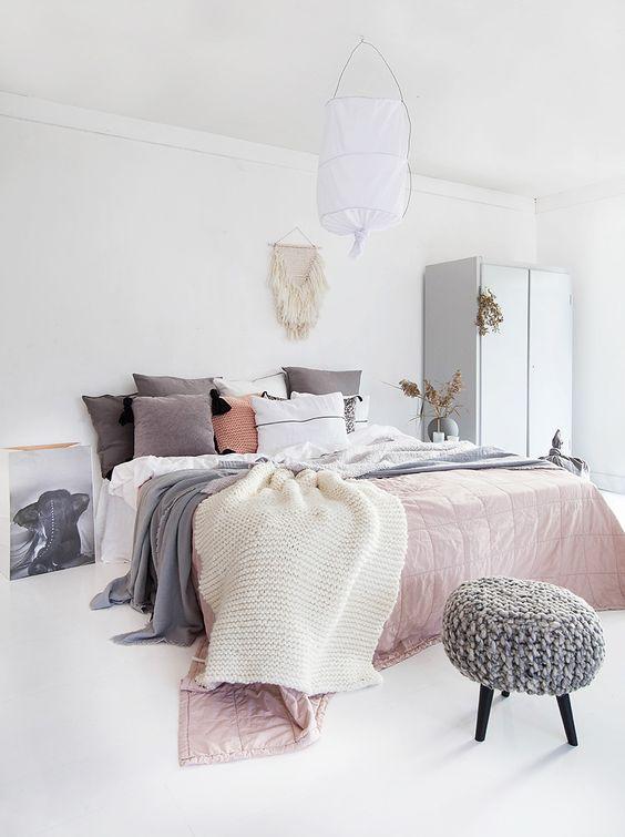 fluffy bedsprei