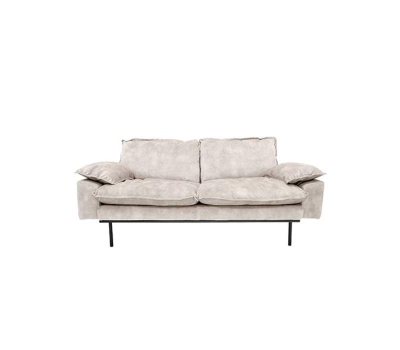 Retro sofa 2-zits