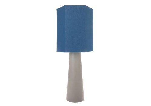 HK Living Cone lampenvoet L mat lichtgrijs