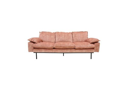 HK Living Retro sofa 3-zits