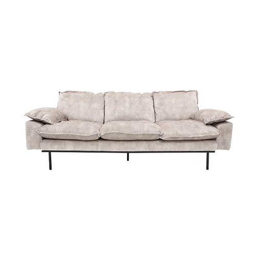 HK Living Retro sofa 3-zits