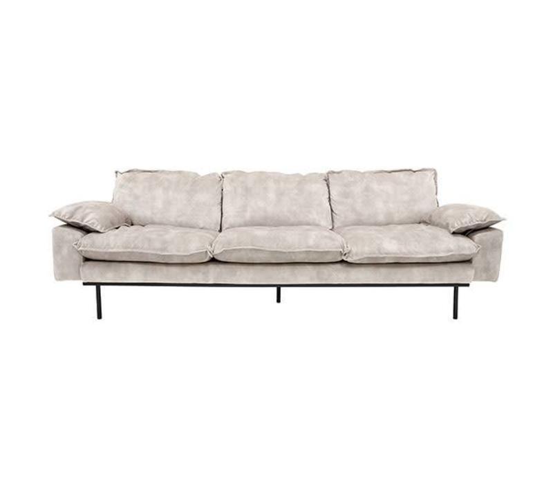 Retro sofa 4-zits