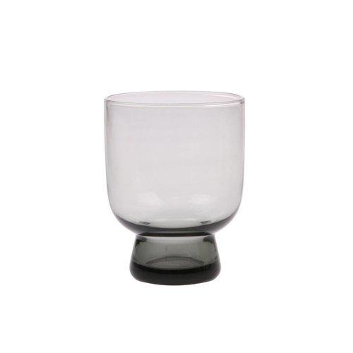 HK Living Smoked grey glas M