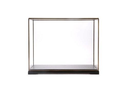 HK Living Vierkante glazen stolp L