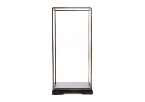 HK Living Vierkante glazen stolp M
