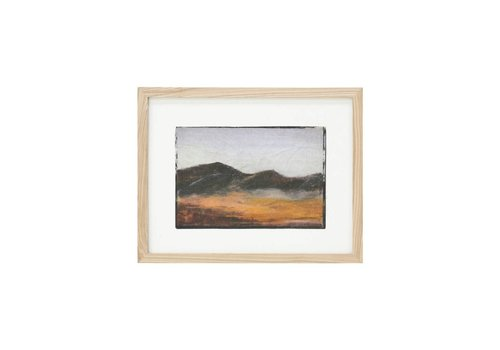 HK Living Tiny art frame S: mountains