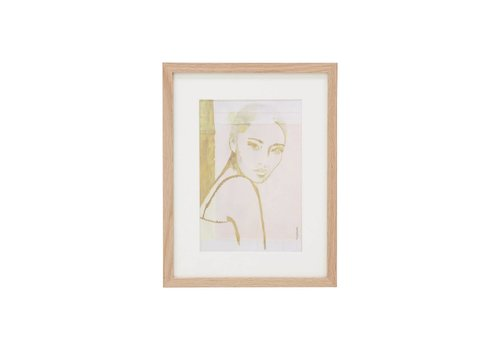 HK Living Tiny art frame S: stella