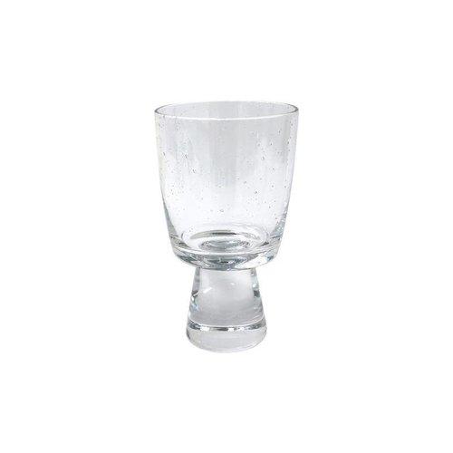 HK Living 70's witte wijnglas - set van 4