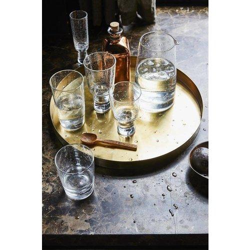 HK Living 70's longdrink glas - set van 4
