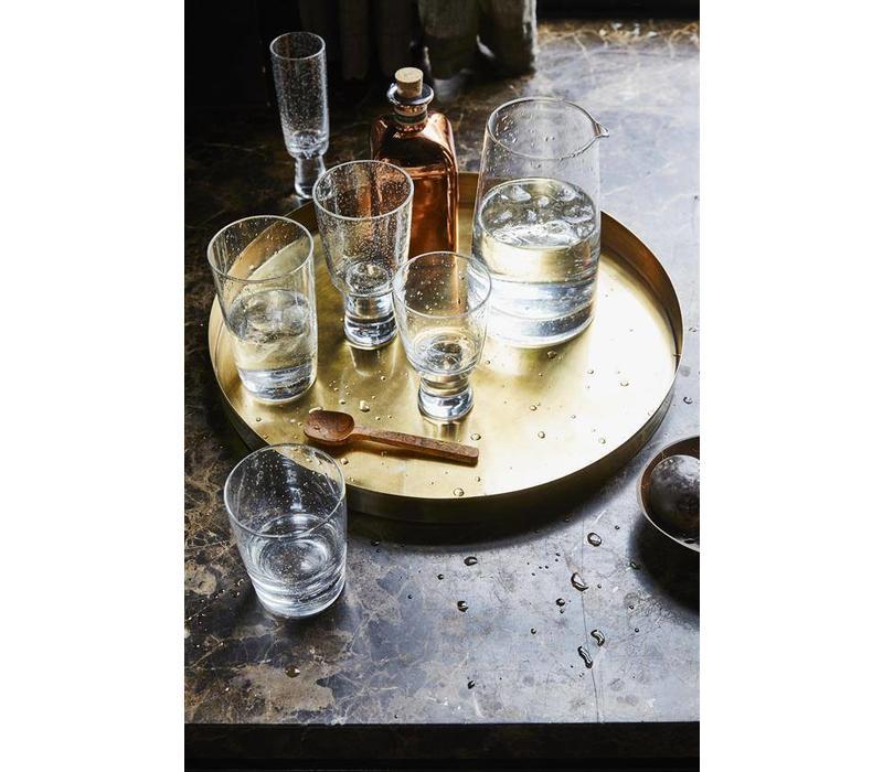 70's longdrink glas - set van 4