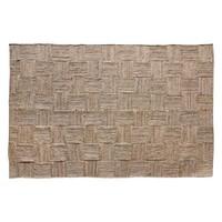 Patched jute tapijt 180 x 280