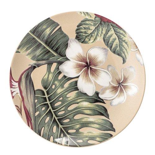Bloomingville Aruba bord, keramiek, meerkleurig Ø20 cm