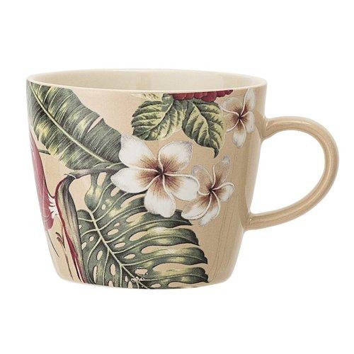 Bloomingville Aruba mok, keramiek, meerkleurig