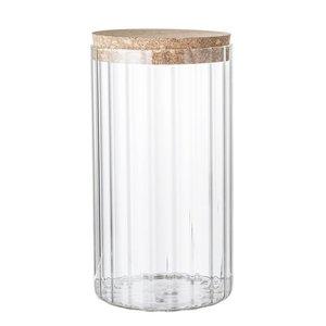Bloomingville Voorraadpot glas Ø11 cm x H21 cm