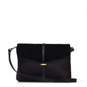 O My Bag Ella midi handtas - soft grain leather black