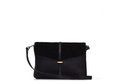 O My Bag Ella midi handtas - eco midnight black
