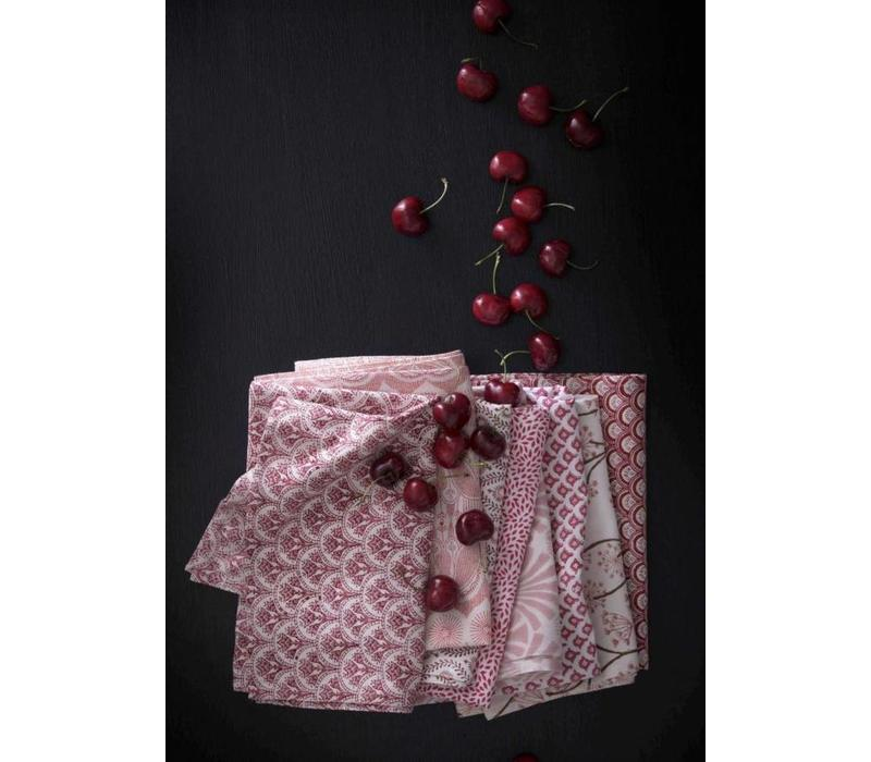 Geisha red keukenhanddoek