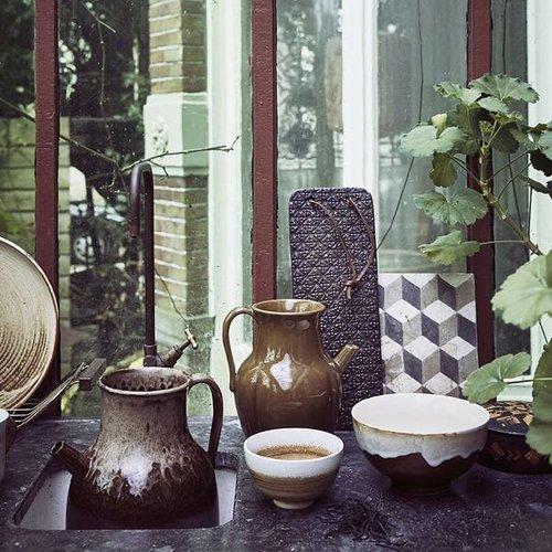 HK Living Kyoto schaal met dripping effect