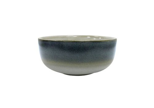 HK Living Ceramic 70´s Bowl medium : Ocean