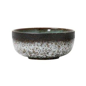 HK Living Ceramic 70´s Bowl medium : mud