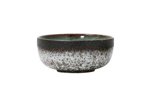 HK Living Ceramic 70´s Bowl medium : mud