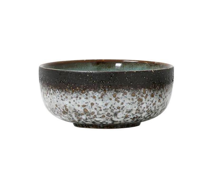 Ceramic 70´s Bowl medium : mud
