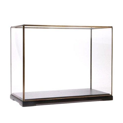 HK Living Rechthoekige glazen stolp L