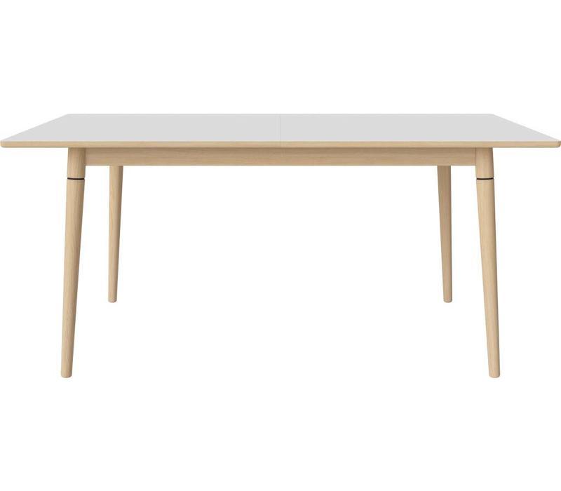 Witte Eettafel 220 Cm.Coney Eettafel Witte Laminaat Vida Design