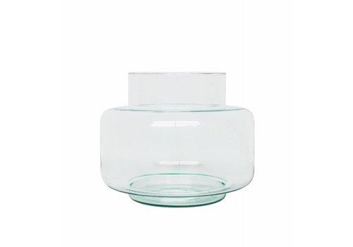 Urban Nature Culture Vaas gerecycleerd glas transparant