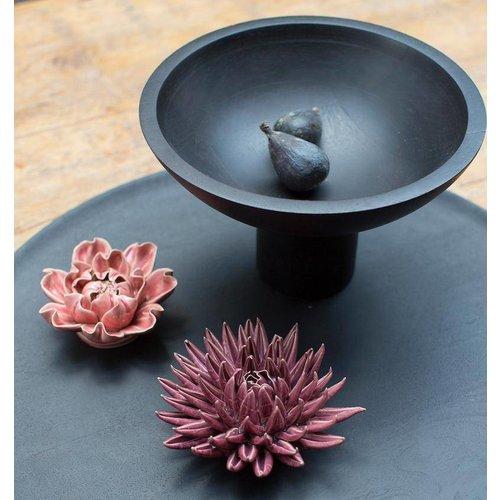 Urban Nature Culture Shizu bowl op voet mangohout