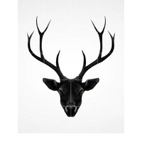 IXXI wanddecoratie - Deer dark & light
