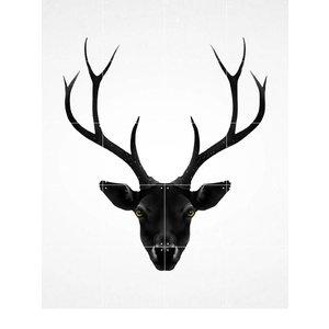 IXXI IXXI wanddecoratie - Deer dark & light