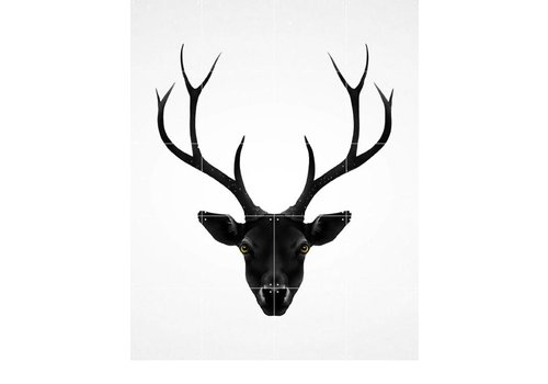 IXXI IXXI wanddecoratie Deer dark & light